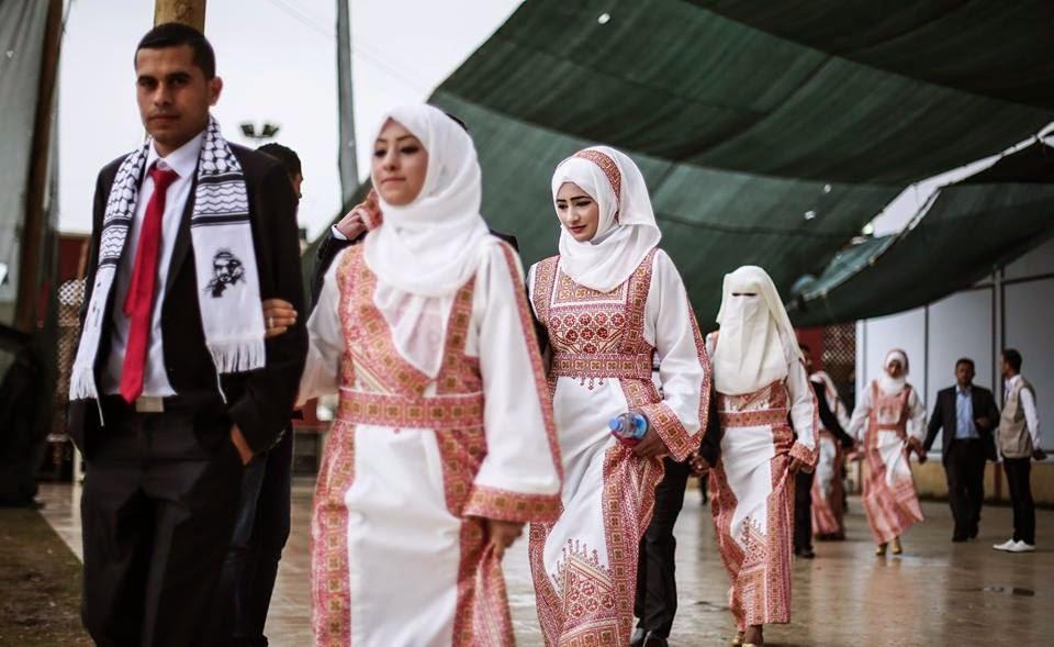 Foto Nikah Massal di Jalur Gaza