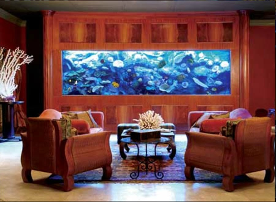 Beautiful home decorating ideas Beautiful aquariums for home