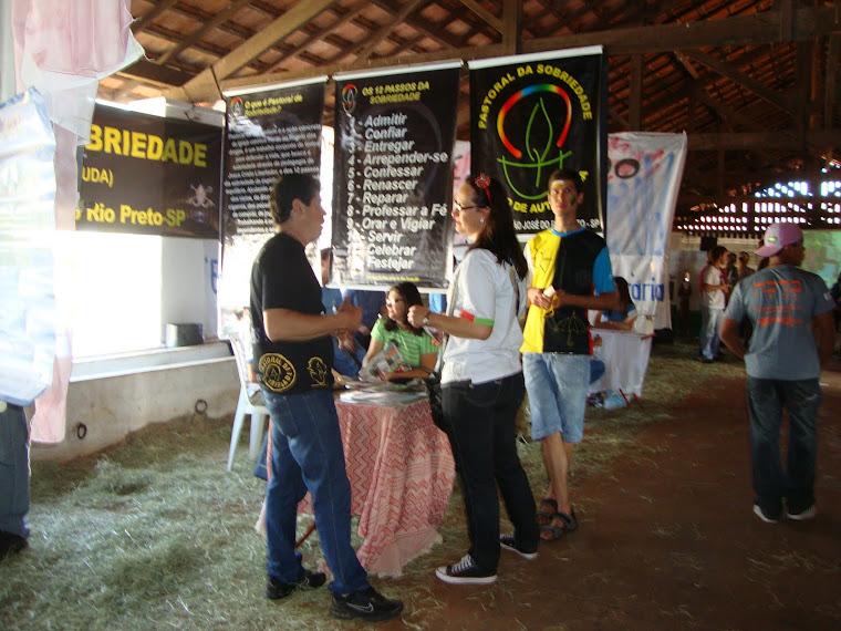 Pastoral da Sobriedade no Beraká 2011