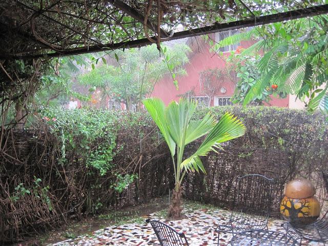 Lluvia en Senegal
