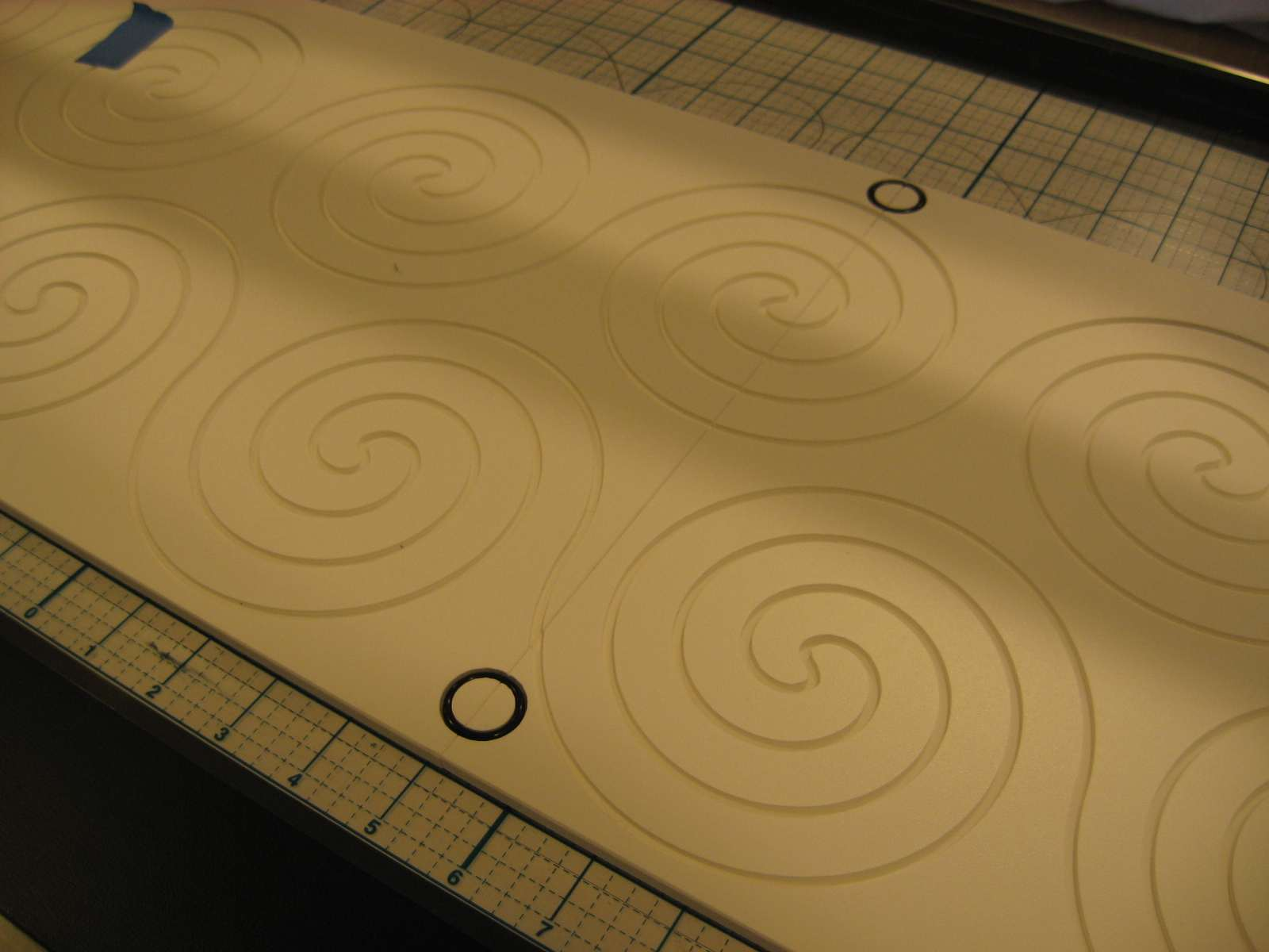 Hooked on Needles: Long Arm Quilting ~ Perfect Swirlies