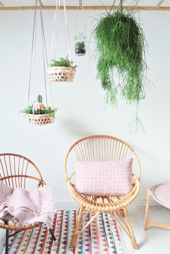 DIY: Cestas colgantes para plantas