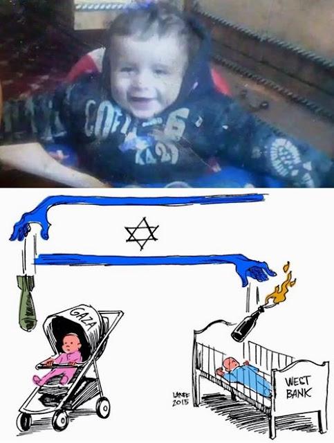 Bebê palestino de 18 meses morre queimado por colonos judeus