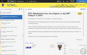 Football Manager 2014 Pre-Match News