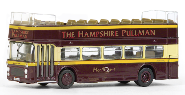 EFE Subscriber special model. 18616 - Bristol VR III Open Top - The Hampshire Pullman Registration number VDV 140S, fleet named Invincible £32.50 Free UK P&P