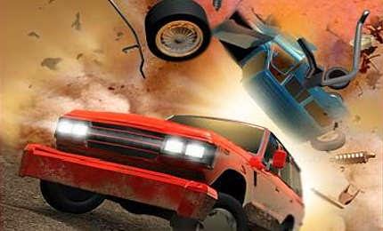 لعبة سيارات القنابل والتدمير  Danger Wheels اون لاين