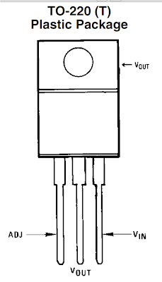 LM 317 pin diagram