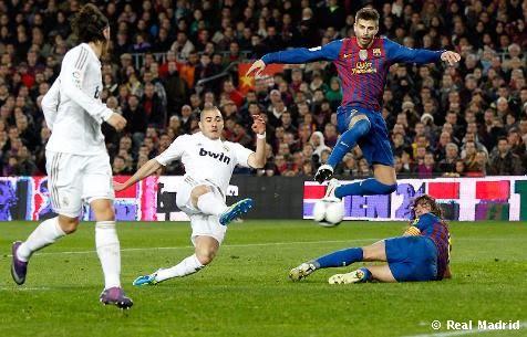 FC Barcelona Real Madrid goles Copa del Rey 2012
