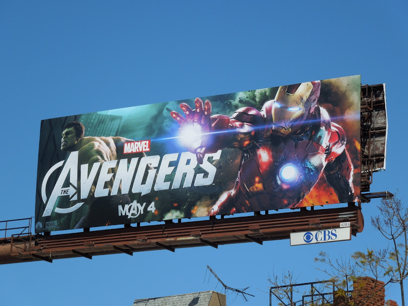 Avengers movie Iron Man billboard