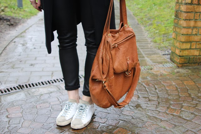 golden goose, sneakers, jérôme dreyfuss, legging cuir, shineblossom, cuir, blog, blogger mode, blog mode lille