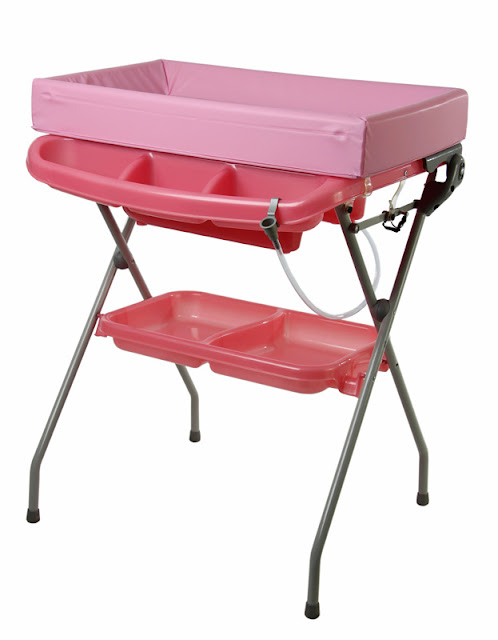 Bassinet Changing Table Combo