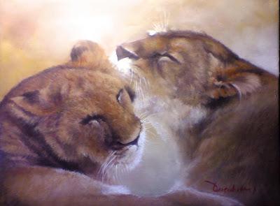 Lukisan singa,lukisan kepala singa,lukisan macan,lukisan lion,lukisan binatang,lukisan karya toto sukatma
