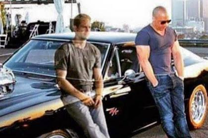 Heboh 'Hantu' Paul Walker Berfoto Bersama Vin Diesel