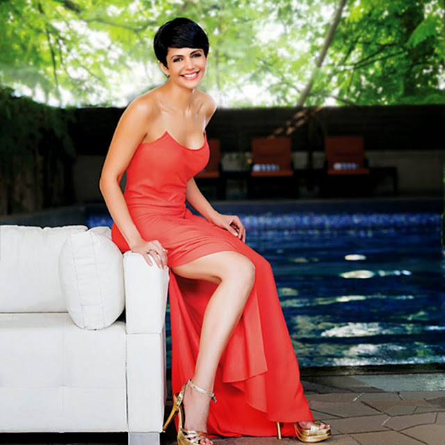 Beautiful Mandira Bedi HD Wallpaper