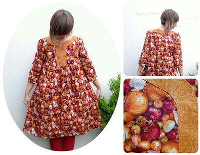 Stylish Dress Book onion dress: T
