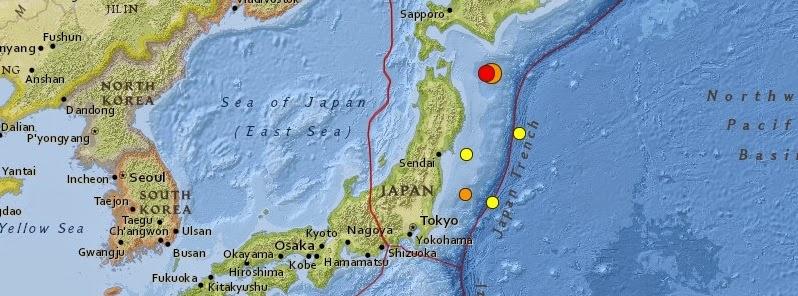 FUERTE TERREMOTO DE 6,3 GRADOS EN JAPON, 11 DE OCTUBRE 2014