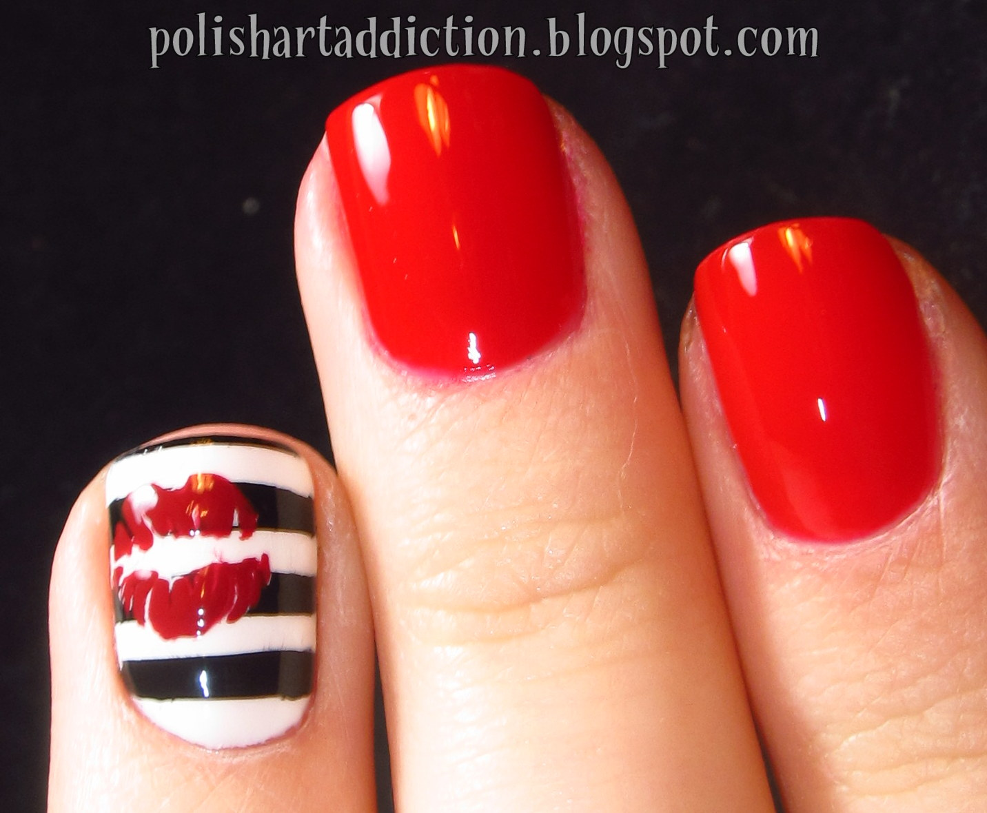 Nail Art Designs Lips Absolute Cycle