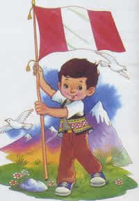 La Bandera Nacional del Perú