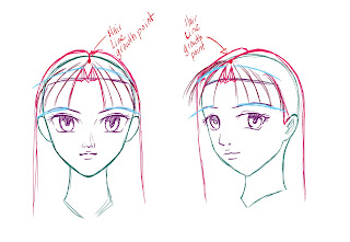 How To Draw Anime Hair Step 7