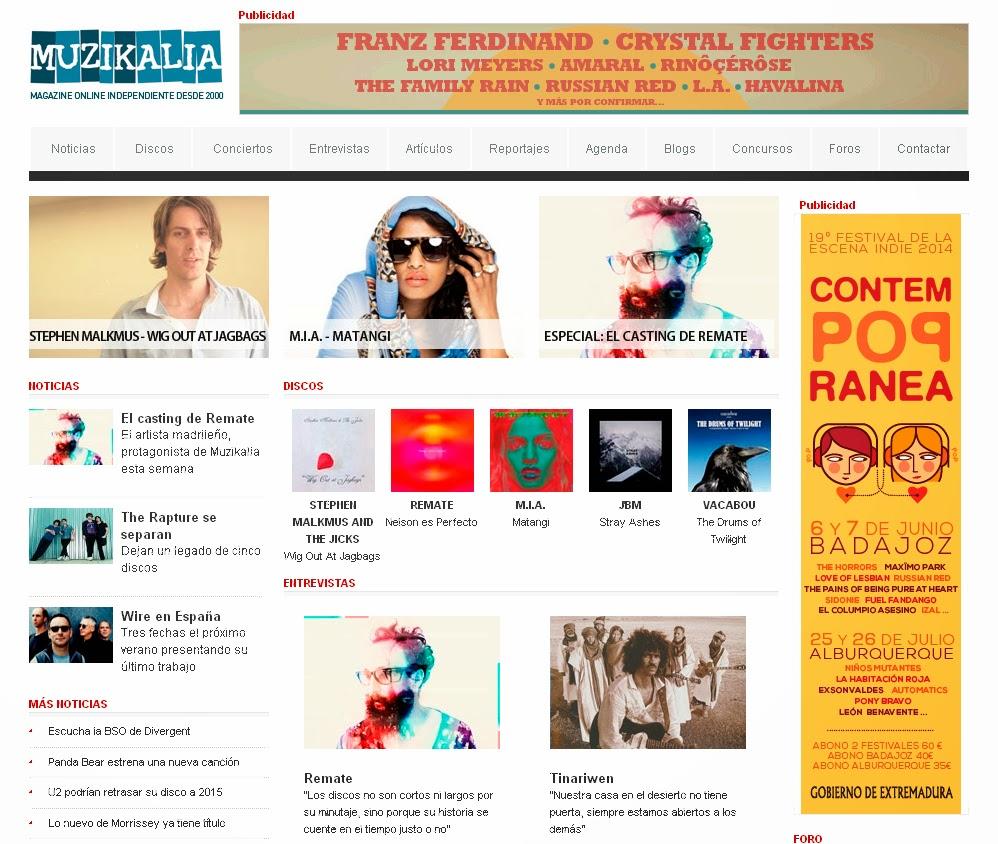 http://muzikalia.com/leerentrevistas.php/682/entrevista/remate
