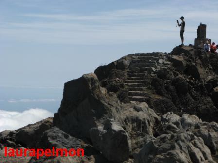 En el pico Ruivo