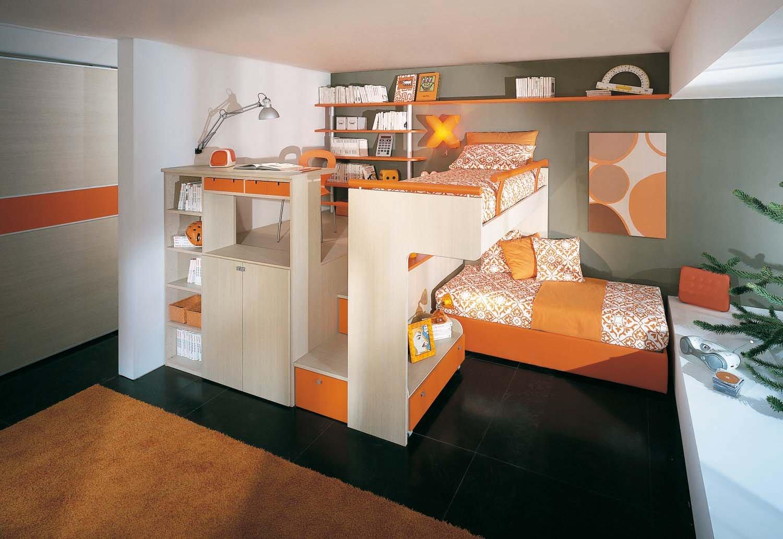 camerette piccole camerette bambini : BONETTI CAMERETTE BONETTI BEDROOMS: CAMERETTE PICCOLE
