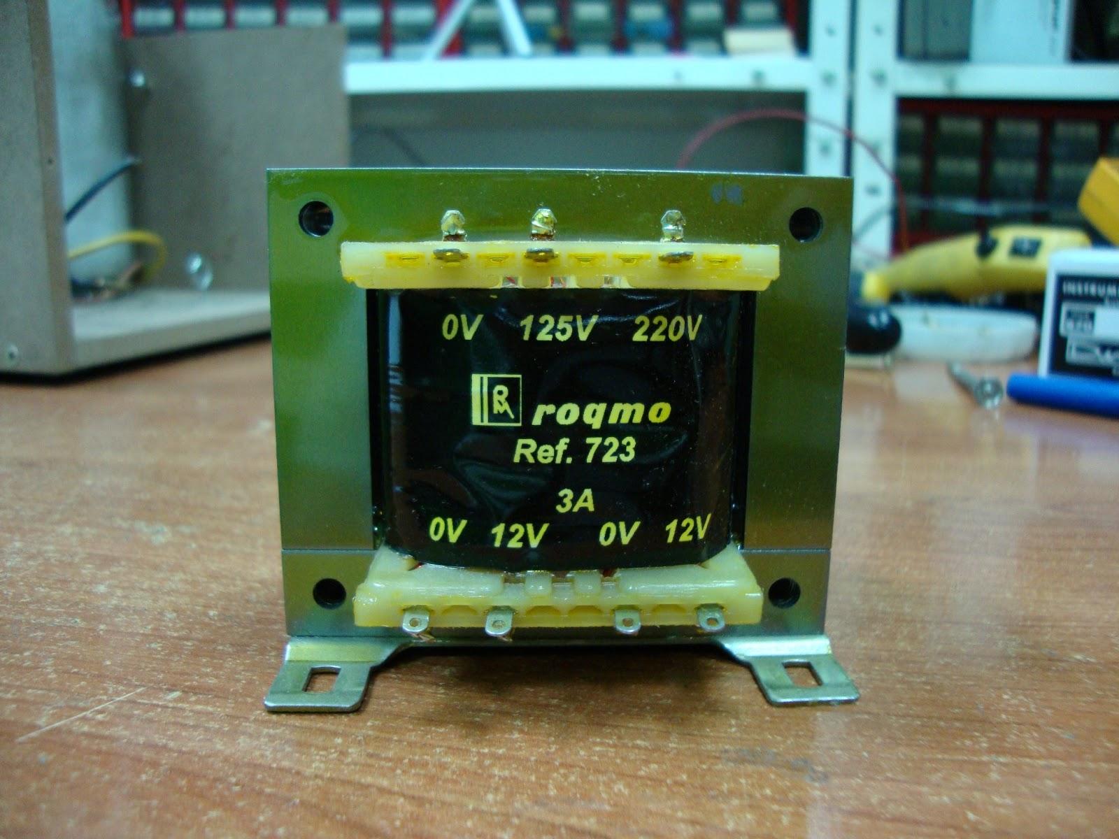 Ciencia inventos y experimentos en casa abril 2013 - Transformador 220v a 12v ...