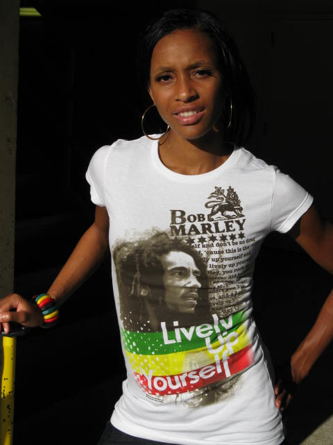 Bob Marley Lively Up Yourself Tee