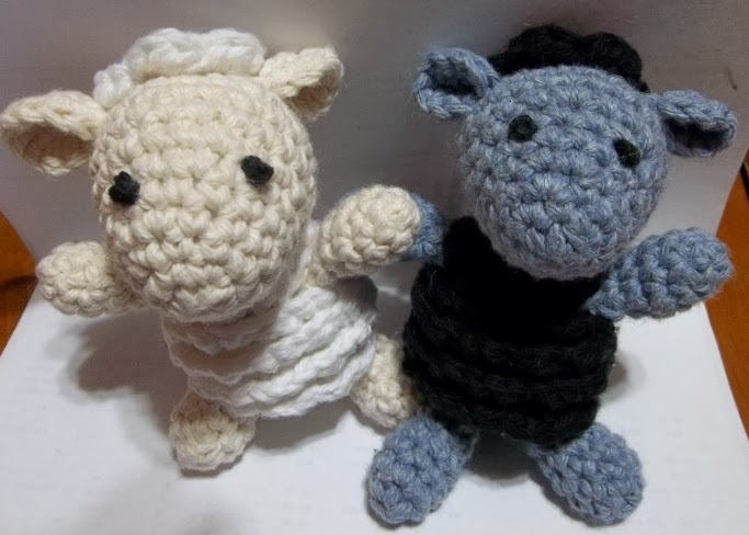 Free Crochet Amigurumi Lamb : Sheep of Delight: Sweet Sheep: Free amigurumi crochet pattern