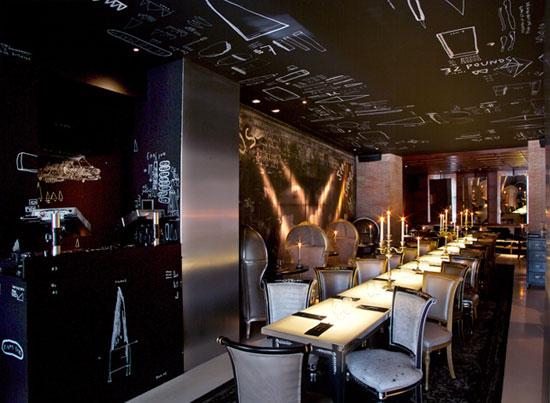 loveisspeed ramses restaurant at madrid spain by philippe starck. Black Bedroom Furniture Sets. Home Design Ideas