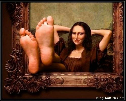 ảnh chế nàng Mona Lisa - Tranh 1