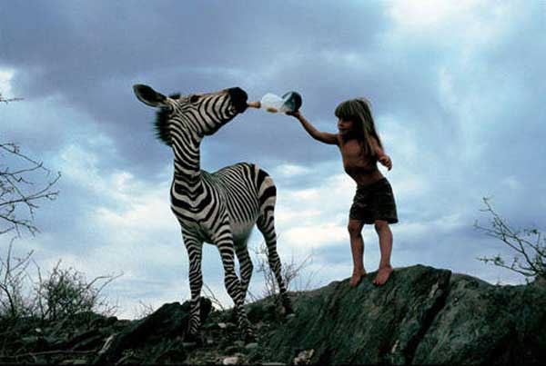 The Magical Life of Tippi Degré, The Real Mowgli from The