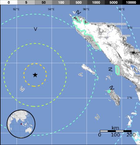 Terremoto y Tsunami en Banda Aceh Sumatra Indonesia