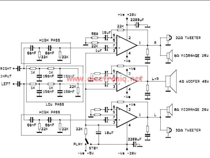 Eletr 244 Nica Campo El 233 Trico Amplificador Com Tda2052