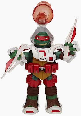 JUGUETES - LAS TORTUGAS NINJA : Teenage Mutant Ninja Turtles TMNT Dimension X - Raphael | Figura - Muñeco Toys | Producto Oficial Serie Televisión | 91233 | A partir de 4 años