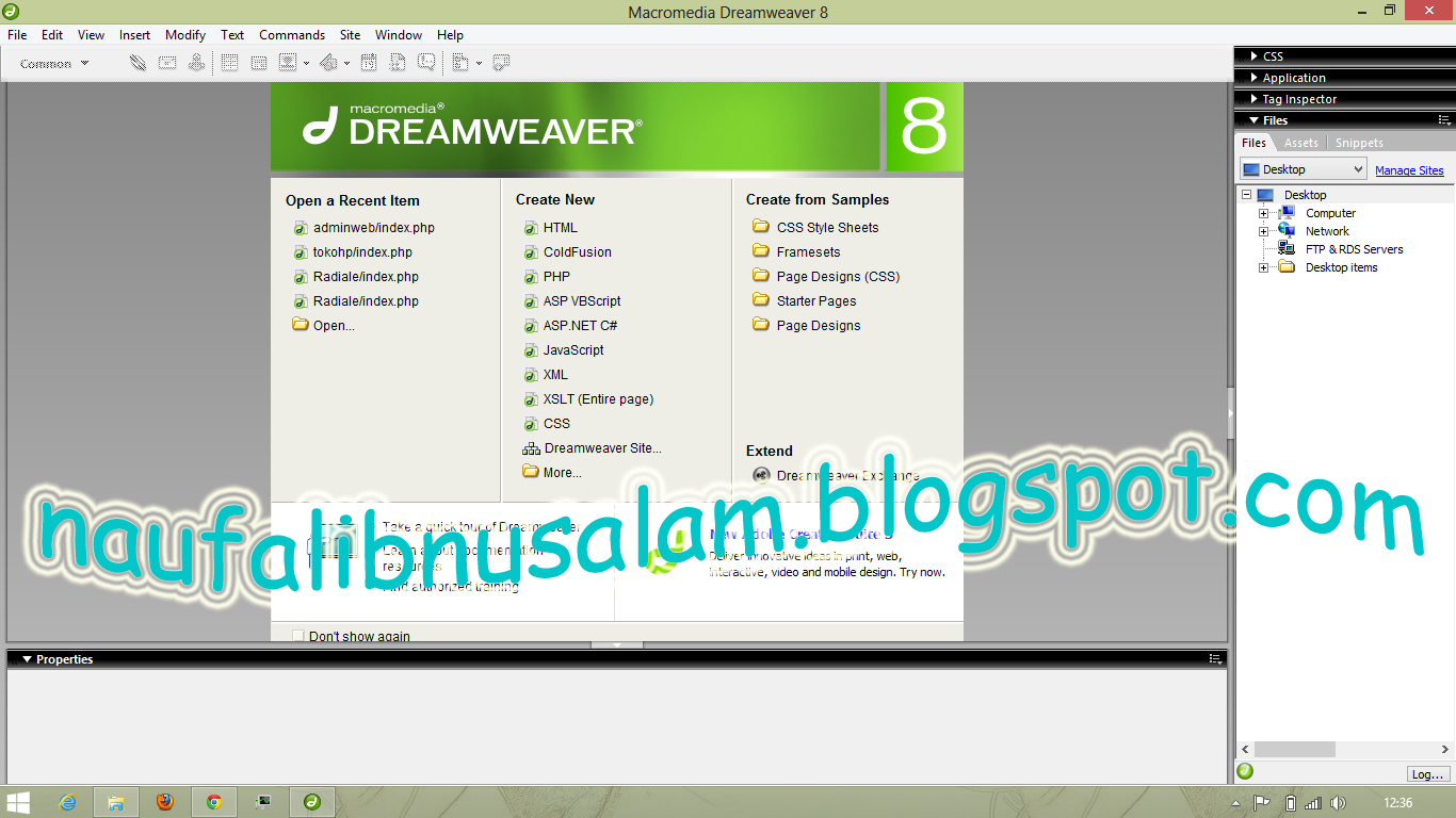 Dreamweaver free download trial - new features
