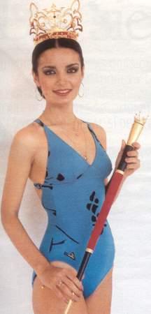 Mercedes Baquero Reina De Colombia  En Miss S