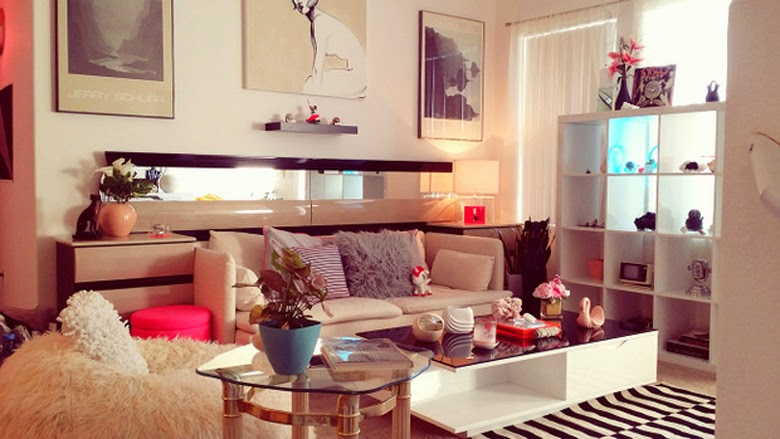 pink interior, pink interior design, inspirations, eighties