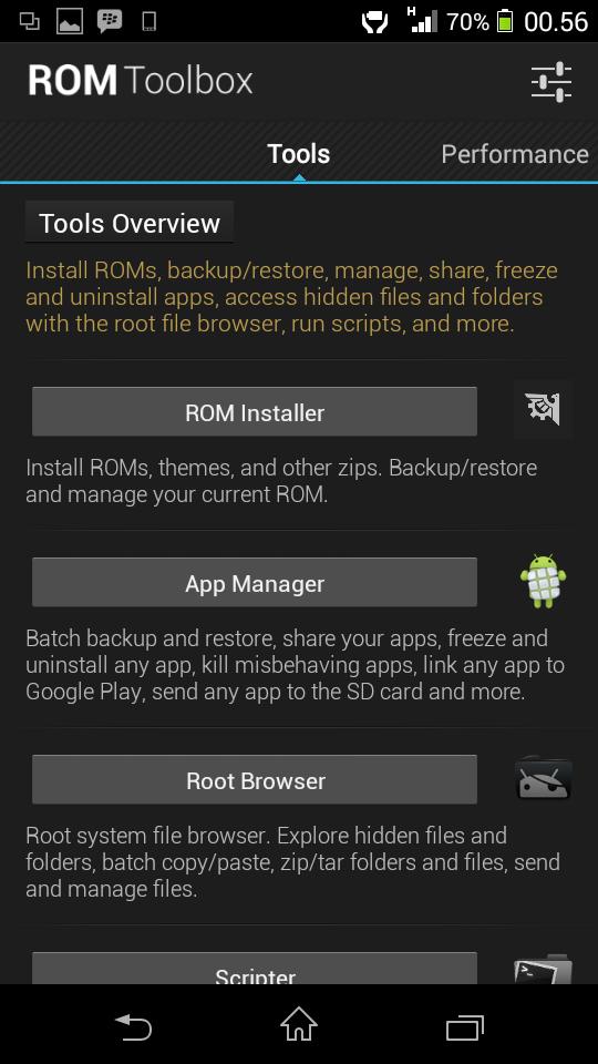 ROM Toolbox Pro 6.0.6.5 Full APK