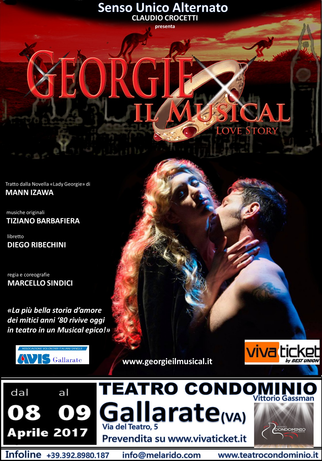 Georgie il musical al teatro condominio di gallarate a