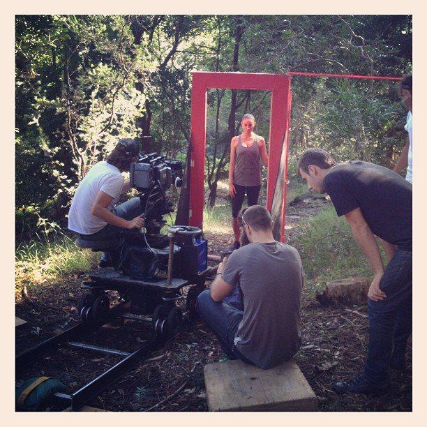 bree robertson filming 39 iii 39 on location