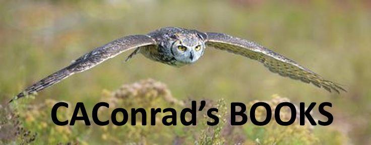 CAConrad's BOOKS