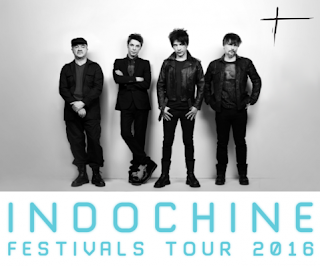 El Festival Tour 2016 de Indochine