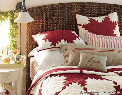Christmas Bedroom Decoration Ideas Bedding with decorated mirror