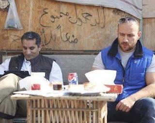صور باسم يوسف مع احمد مكى +Bassem Yousef