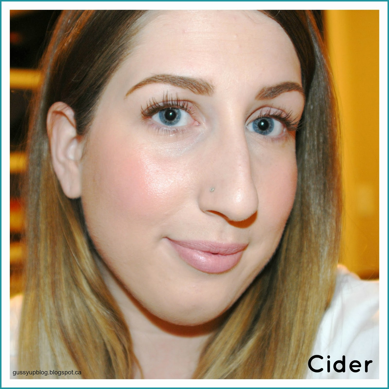 theBalm, How 'Bout Them Apple's, Lip and Cheek Palette, Cider,Review and Swatches