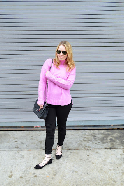 pink-turtleneck-sweater
