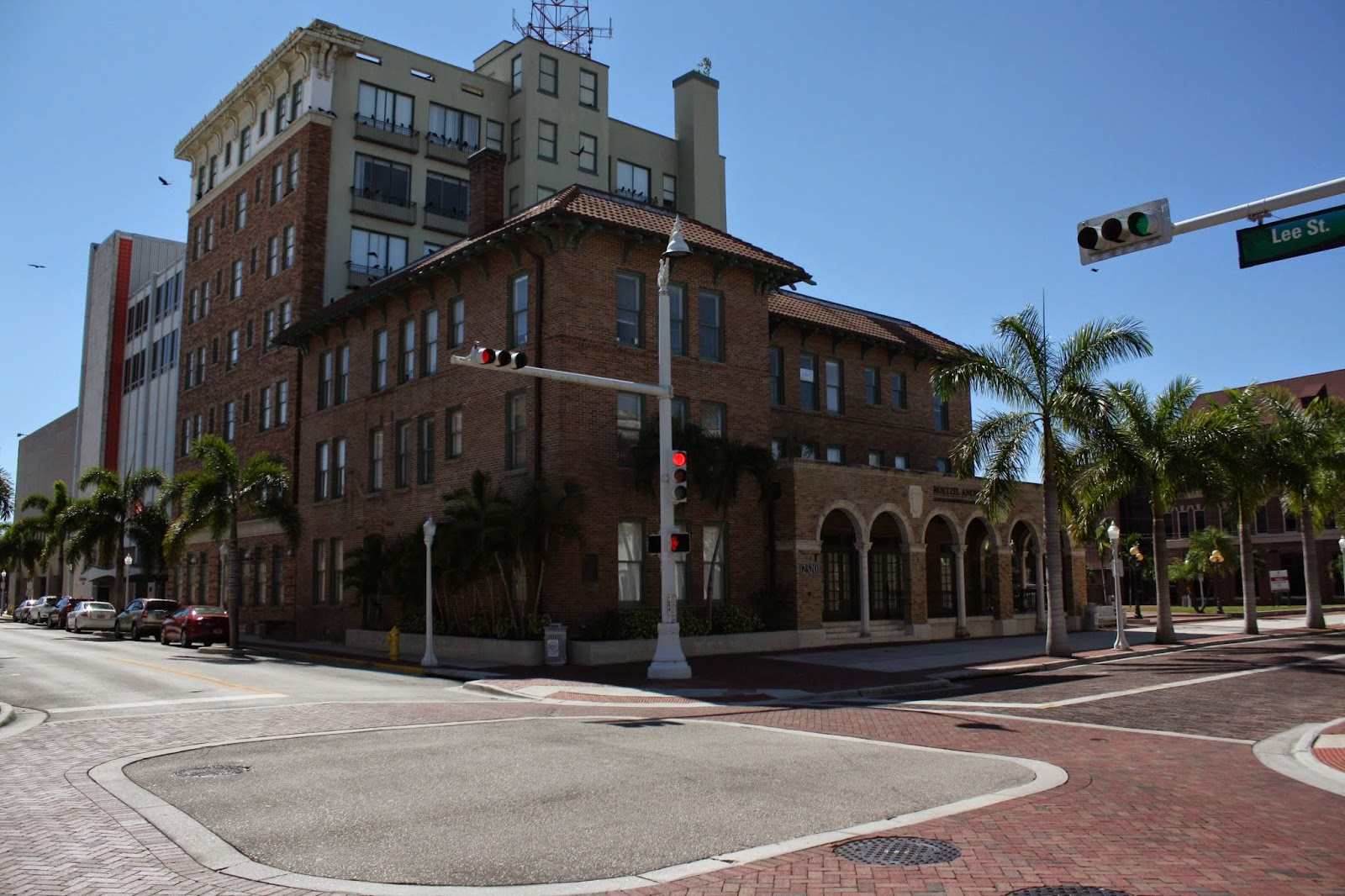 Fort Myers Entrepreneur Harvie Heitman S Still Stands At First And Jackson Streets This Was The Brick Building In It Built