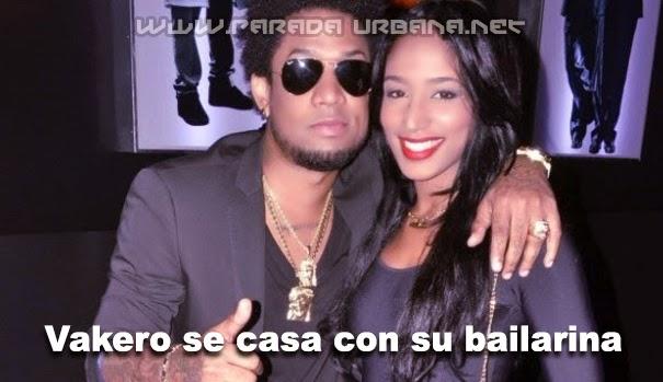 """NOTI-URBANA - El Rapero dominicano """"Vakero"""" se casó con una de sus Bailarinas"""