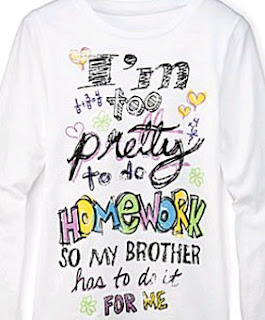T1Penney 8 Shirts You Won't See on My Daughters